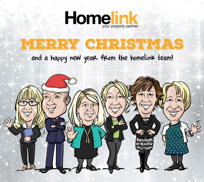 Merry Christmas from the Homelink Team!